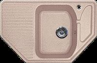 Мойка из искусственного камня Gran-Stone GS-10 302 песочный, фото 1