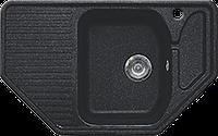 Мойка Gran-Stone GS 10 308 черный, фото 1