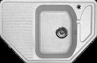Мойка из искусственного камня Gran-Stone GS-10 310 серый, фото 1