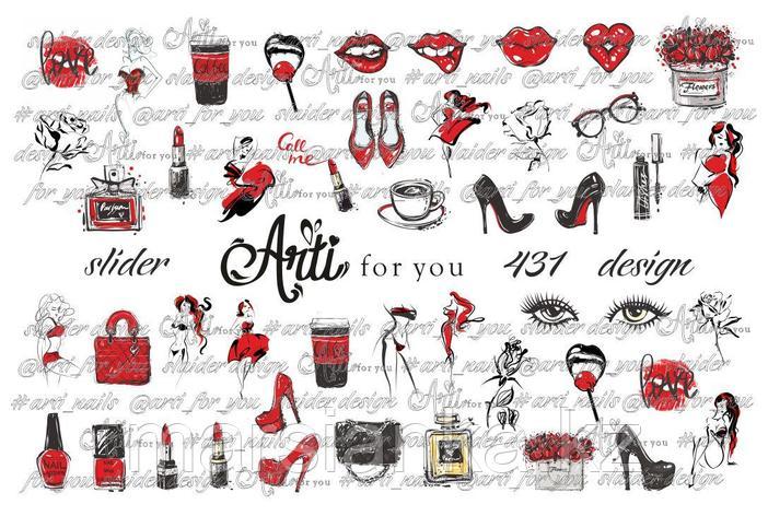 Слайдер дизайн Arti For You №431, фото 2