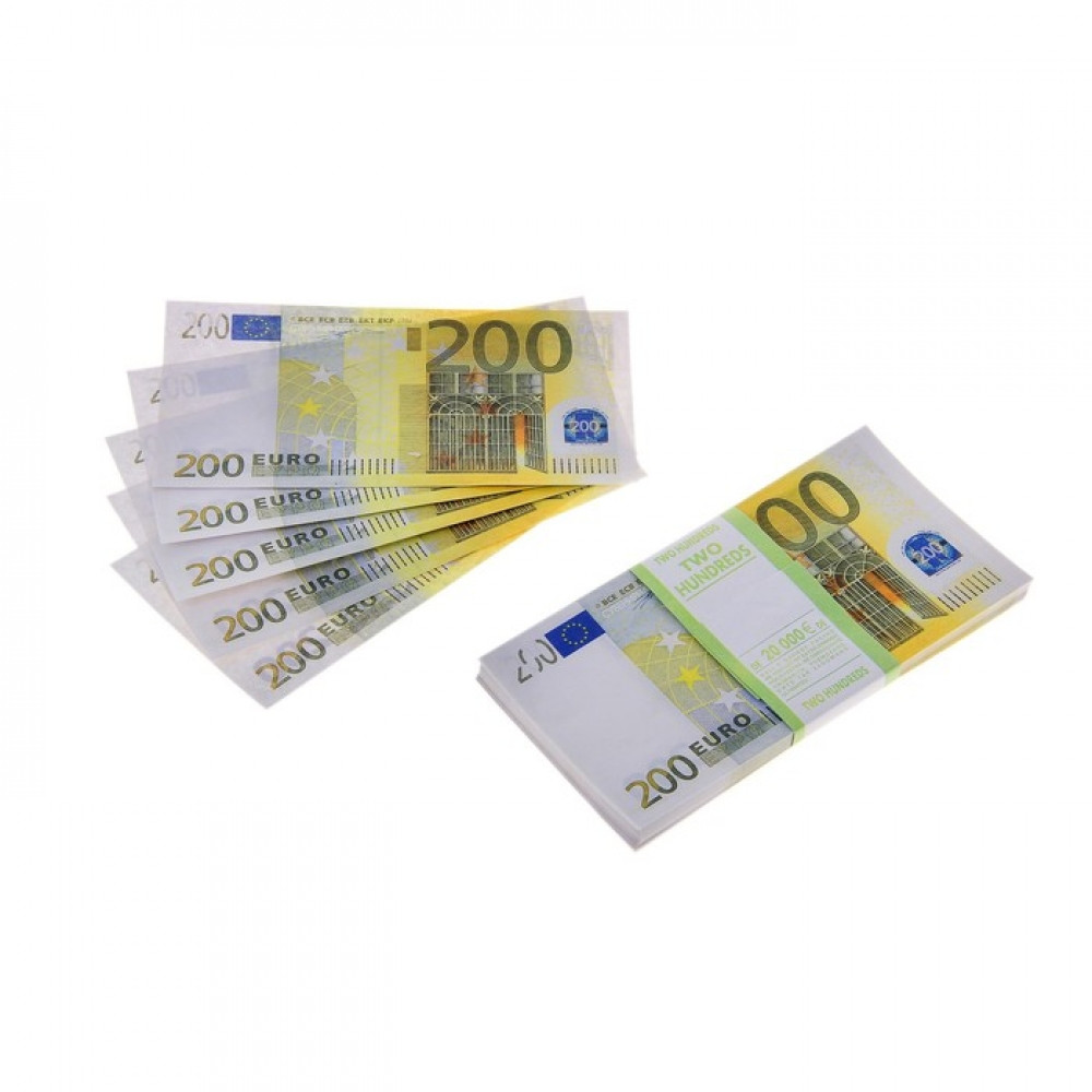 Пачка купюр 200 EURO