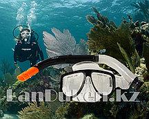 Набор для плавания Seals (дыхательная трубка и маска) черный 00298