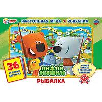 Настольная игра-ходилка Рыбалка Ми-Ми-Мишки 36 карточек Умка