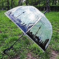 "Зонт прозрачный купол ""Города"", фото 1"