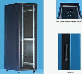 """Шкаф серверный 19"""" 22U, 600*1000*1166 черный Server case Toten GD.6022.9101"""