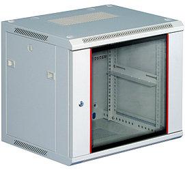 """Шкаф телекоммуникационный настенный 19"""" 6U,600*450*368 серый Server case Toten W2.6406.9000"""