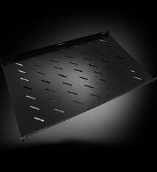 """Полка перфорированная Toten SG.0165.1901, для шкафа серии GS/GD глубиной 1000, 19"""", L=650 mm, black"""