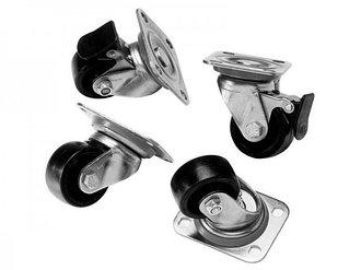 Комплект поворотных колес Toten 321600032 для настенных шкафов серии WM/W2 (4 шт.)
