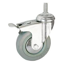 Комплект поворотных колес с тормозом Toten 321600033 для настенных шкафов серии WM/W2 (4 шт.)