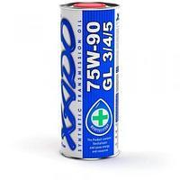 Трансмиссионное масло XADO 75W-90 GL 3/4/5 1литр