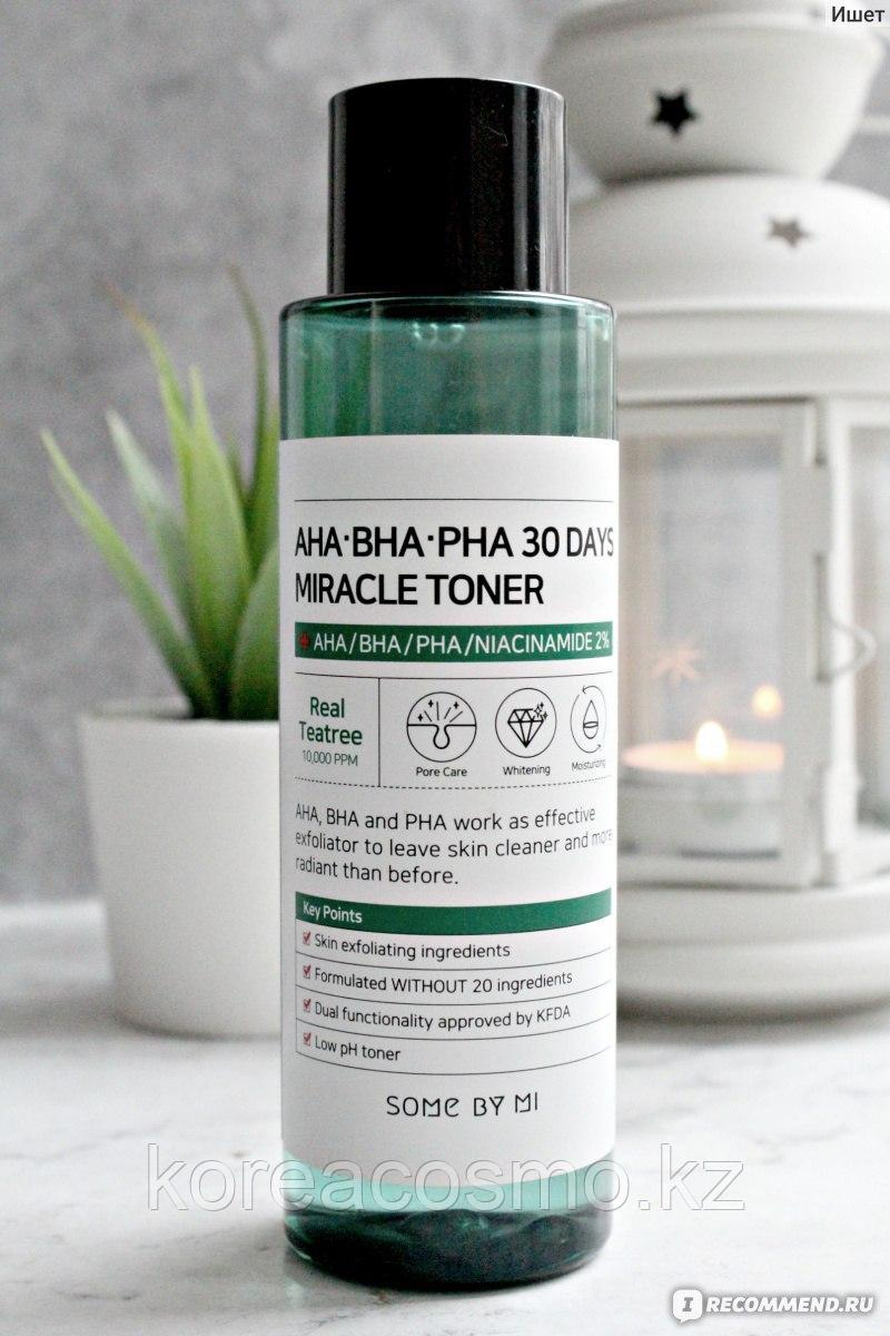 Тонер SOME BY MI AHA BHA PHA 30 Days Miracle