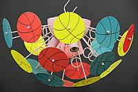 """Детская потолочная люстра """"Баскетбольные мячи"""""""