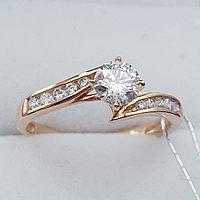 Классическое кольцо с Бриллиантами SI1/G 0.70Ct, фото 1