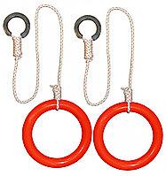 Кольца гимнастические круглые 01 А красный
