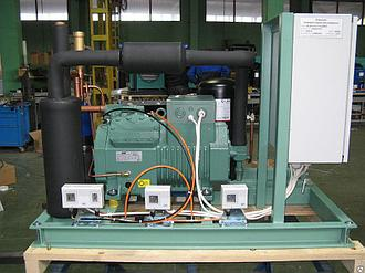 Агрегат трехкомпрессорный среднетемпературный Bitzer КС 3х2CES4Y