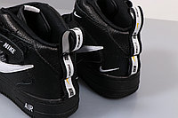 "Nike Air Force 1 Utility Mid ""Black"" (36-45), фото 2"