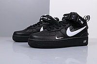 "Nike Air Force 1 Utility Mid ""Black"" (36-45), фото 8"