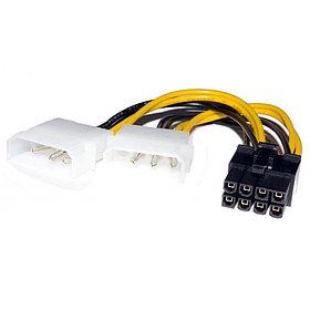 Переходник Cablexpert 8-pin - Molex x2