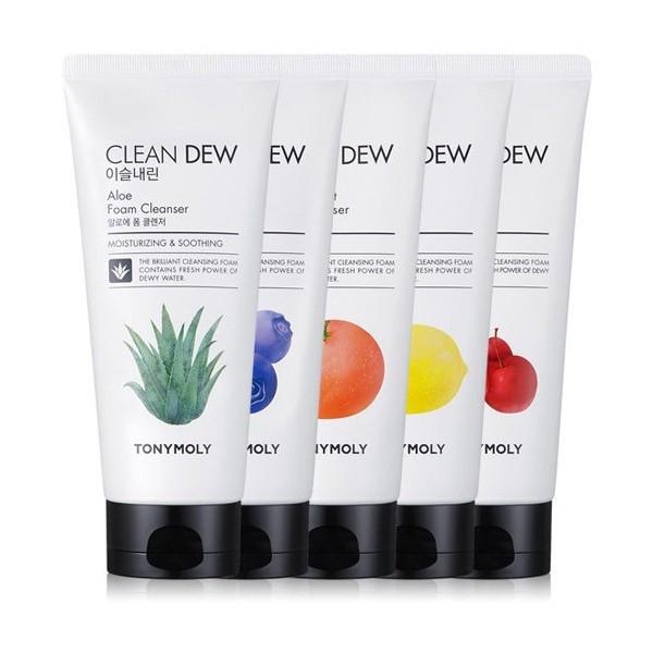 Пенки Тони Моли  TONY MOLY Clean Dew Foam Cleanser 180 ml