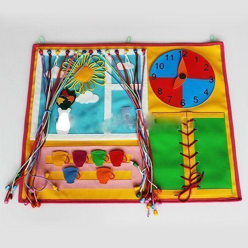 «Окно малышам» игрушка настенная дидактическая