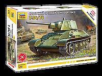 Сборная модель Советский средний танк Т-34\76 обр 1943г. 1\72, сборка без клея, Звезда, фото 1