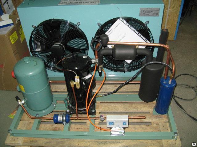 Среднетемпературный агрегат Copeland АКК ZB19E/53-корпус