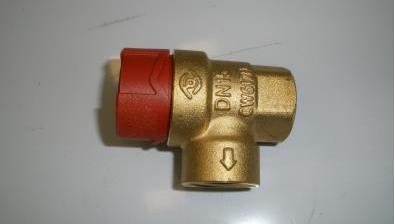 Клапан предохранительный FLOPRESS 1/2Х1/2 РСРАБ 2.5 БАРА