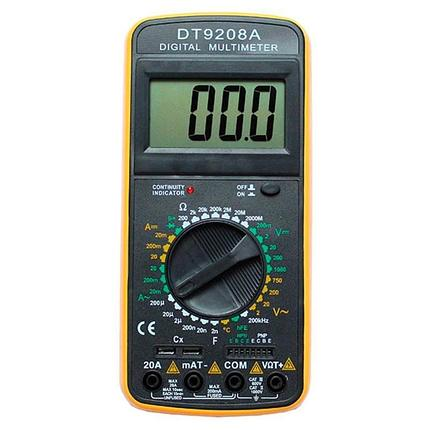 Мультиметр Ресанта DT9208A, фото 2