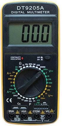 Мультиметр Ресанта DT9205A, фото 2
