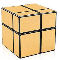 Головоломка - Зеркальный кубик 2x2x2, непропорциональный, золотой