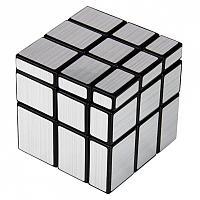 Головоломка - Зеркальный кубик 3x3x3, непропорциональный, серебряный
