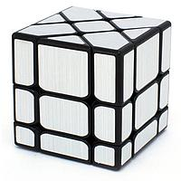 Головоломка - Зеркальный кубик Фишер, серебряный