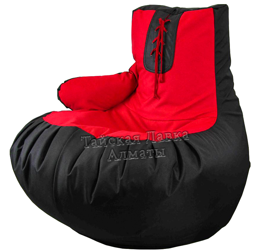 Бескаркасная мебель Мешок пуфик Боксерская перчатка