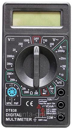 Мультиметр Ресанта DT 838, фото 2