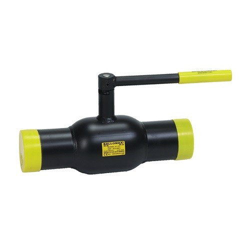 Кран шаровой BROEN BALLOMAX 60 - Ду65 (Сварка/Сварка, PN25, Tmax 200°С, ручка-рычаг)