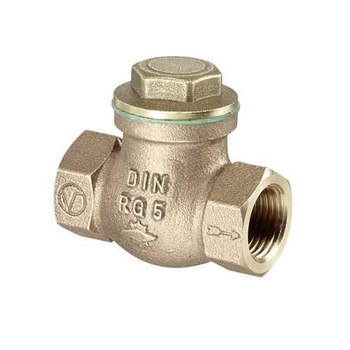 """Клапан обратный Oventrop - 1""""1/2 (ВР/ВР, PN16, Tmax 80°C, металлическое уплотнение)"""