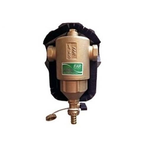 """Грязеуловитель FAR 2201 - 1""""1/2 (ВР/ВР, PN10, Tmax 110°C, со сливным краном, в теплоизоляции)"""