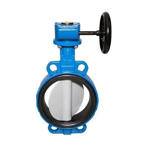 Затвор дисковый поворотный Danfoss VFY-WG - Ду80 (PN16, Tmax130°С, гладк.проушины, диск нерж.сталь)