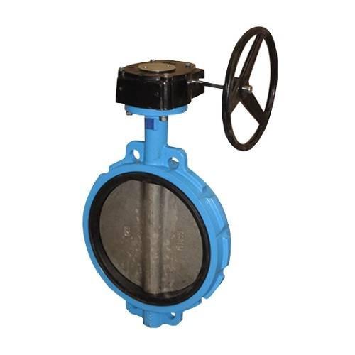 Затвор дисковый поворотный Danfoss SYLAX - Ду900 (PN16, Tmax 90°С, гладк.проушины, диск чугунный)