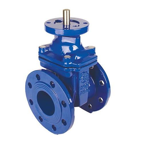 Задвижка чугунная RUSHWORK 103 - Ду150 (ф/ф, PN16, Tmax 110°C, ручка под электропривод)
