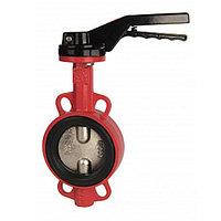Затвор дисковый поворотный RUSHWORK 201 - Ду200 (PN16, Tmax 110°С, ручка-рычаг)