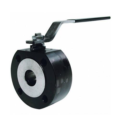 Кран шаровой полнопроходной GENEBRE 2105 - Ду65 (ф/ф, PN16, Tmax 180°С, ручка-рычаг, цвет черный)