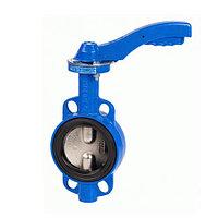 Затвор дисковый поворотный GENEBRE 2109 - Ду150 (PN16, Tmax 120°С, ручка-рычаг)