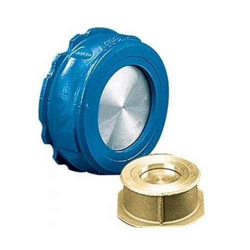 Клапан обратный межфланцевый Danfoss NVD 812 - Ду125 (ф/ф, PN40, Tmax 350°C, нерж.сталь)