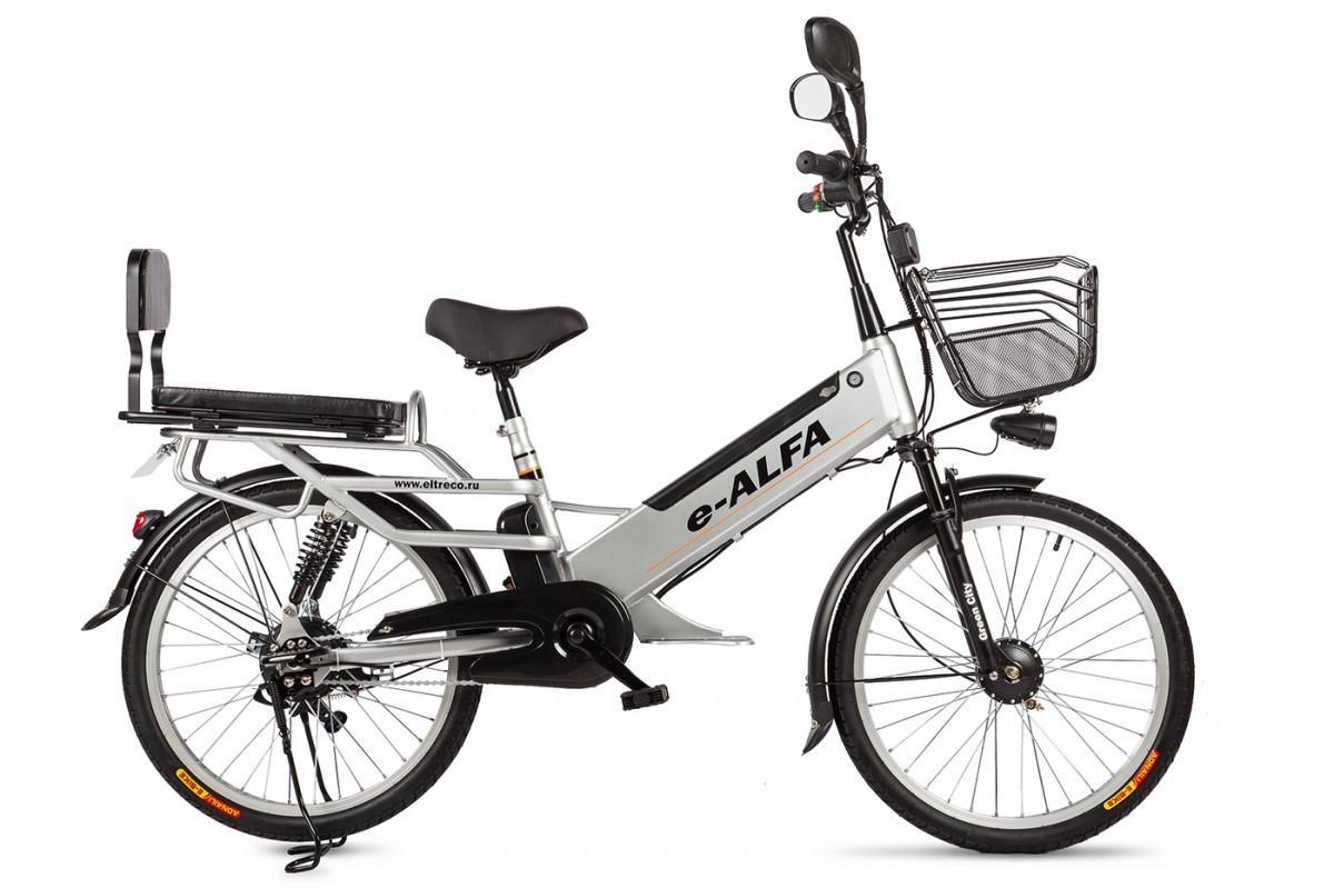 Велогибрид Eltreco e-ALFA L