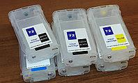 Комплект картриджей HP ДЗК/ПЗК №72(C9370-9374+С9403) XL без чернил/с чипом