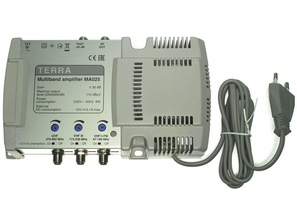 Усилитель ТВ сигнала  Terra MA025