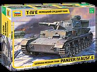 Немецкий танк Panzer Т-IV E Сборная модель 1\35, фото 1