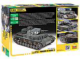 Немецкий танк Panzer Т-IV E Сборная модель 1\35, фото 7