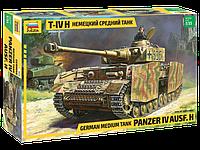 Немецкий средний танк Panzer T-IV (H) Сборная модель 1\35, фото 1